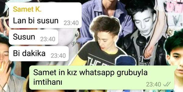 Kızların Whatsapp konuşmaları