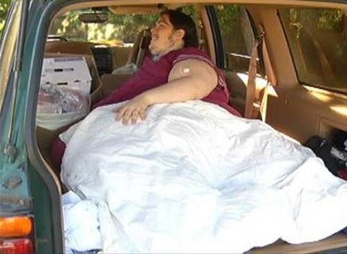 352 kiloluk hastaya 'pizza' cezası