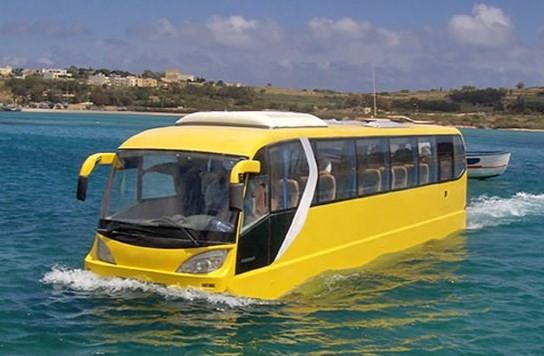 İstanbul'a yüzen otobüs seferleri gelecek