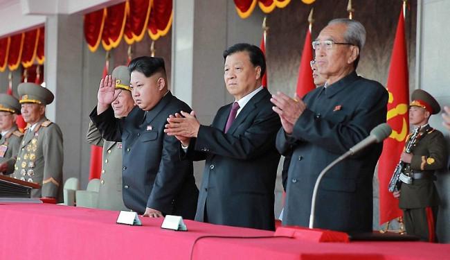 Kuzey Kore'de kutlama