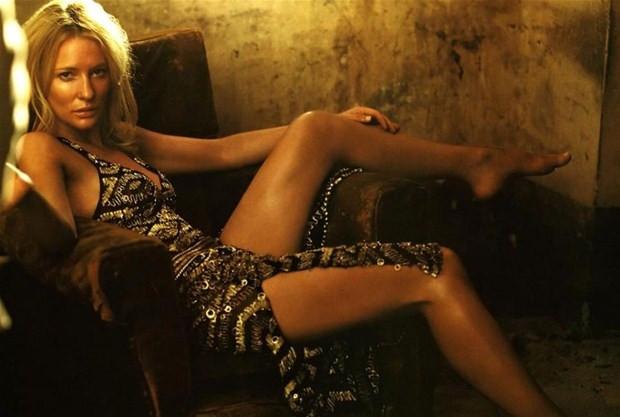 Dövmeli Cate Blanchett