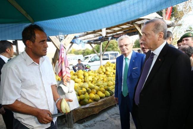 Cumhurbaşkanı Erdoğan Çankırı'da