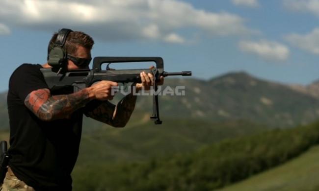 LG G4 uzun namlulu silah testinde
