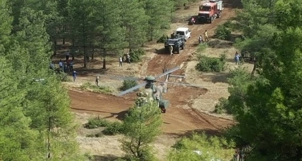 TSK'dan açıklama: 'Hava aracı düşürüldü'