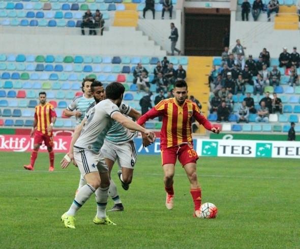 Kayserispor-Fenerbahçe maçından önemli anlar