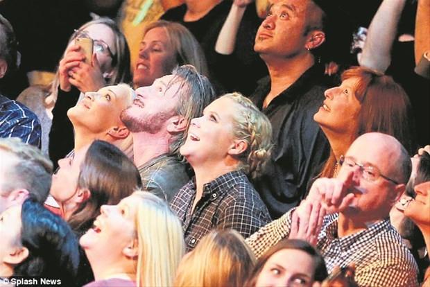 Madonna tarzı ile şaşırttı
