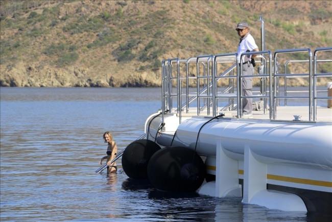 Abramoviç'in yüzen sarayı böyle