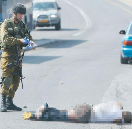 Filistinli şoför İsrailli saldırganı böyle ezdi