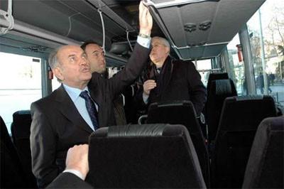 İstanbulun yeni otobüsleri