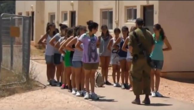 İşte İsrail'in kadın askerleri