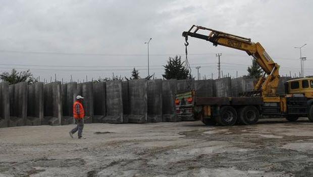 Kilis'in Suriye sınırına duvar örülecek