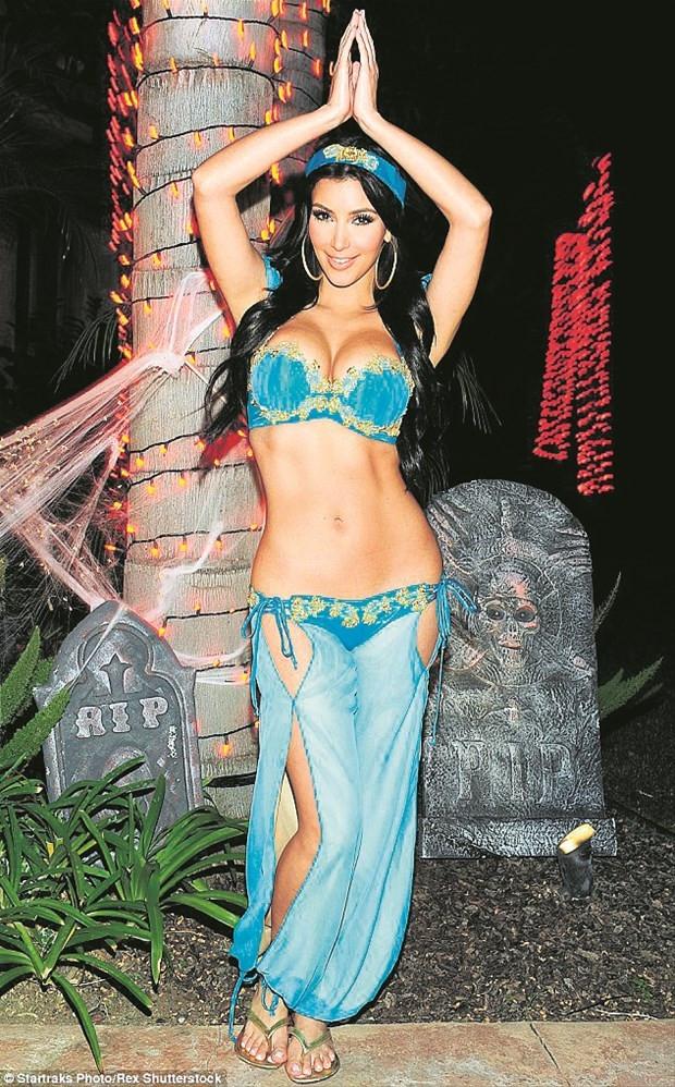 Kim Kardashian'ın eski halinden eser yok
