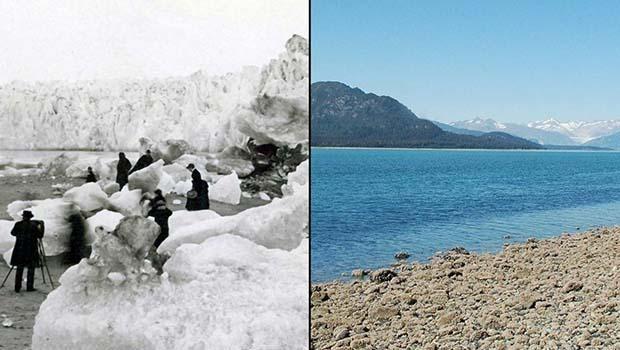 Küresel ısınma dünyayı günden güne eritiyor