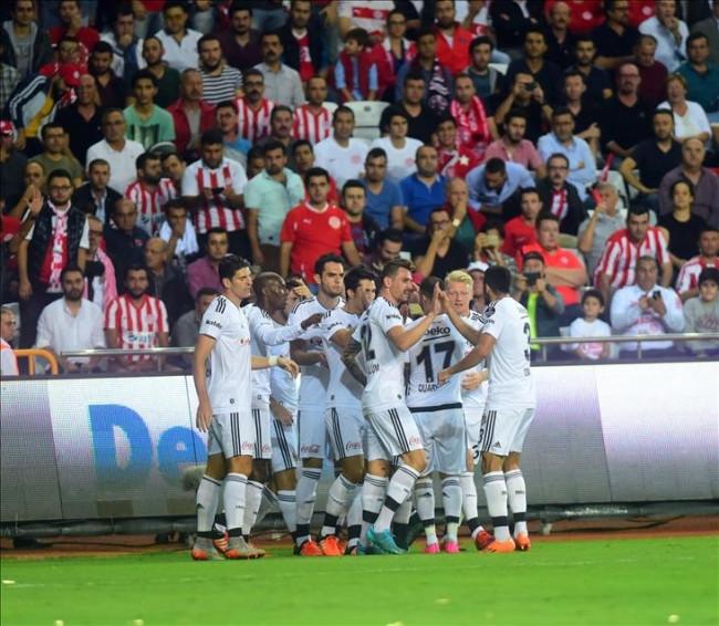Beşiktaş farka uçtu
