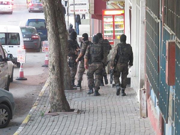 İstanbul'da terör örgütü IŞİD operasyonu