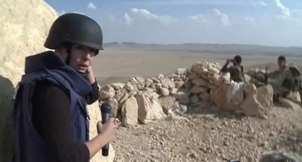 Russia Today ekibi Palmira'yı görüntüledi