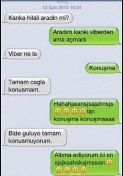 En komik WhatsApp konuşmaları