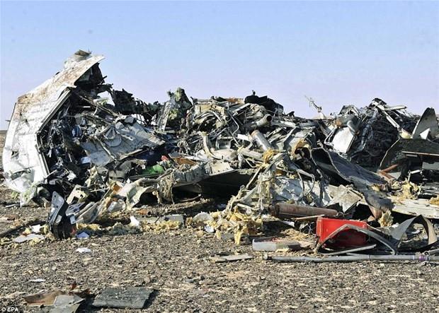 Düşen uçağın ilk görüntüleri...