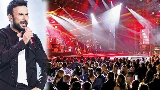 Tarkan Monaco'da konser verdi