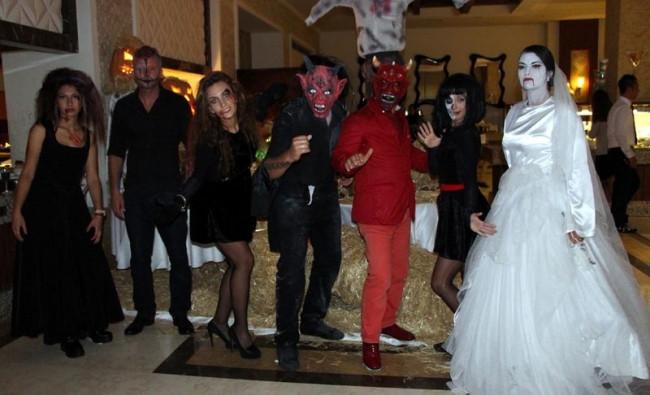 Türkiye'de Cadılar Bayramı kutlandı