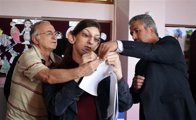 1 Kasım seçimlerinden fotoğraflar