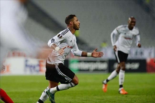 Beşiktaş-Lokomotiv Moskova maçından kareler