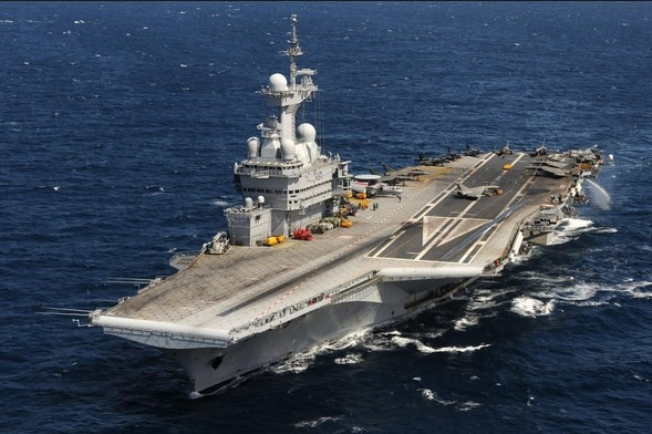 Charles de Gaulle uçak gemisi