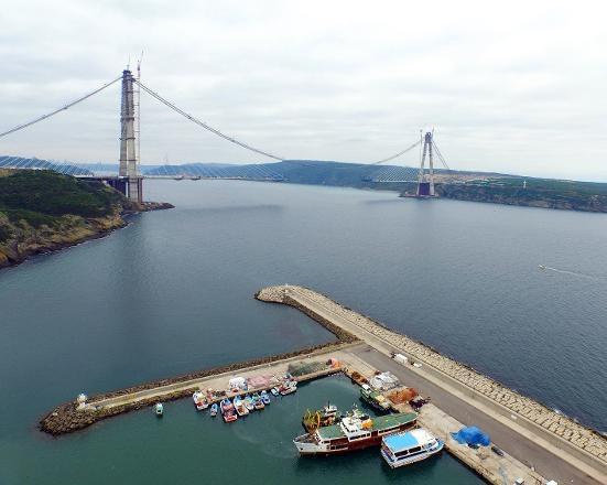 3. köprüde sona yaklaşıldı