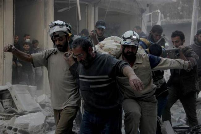 Rus uçağı Halep'i vurdu