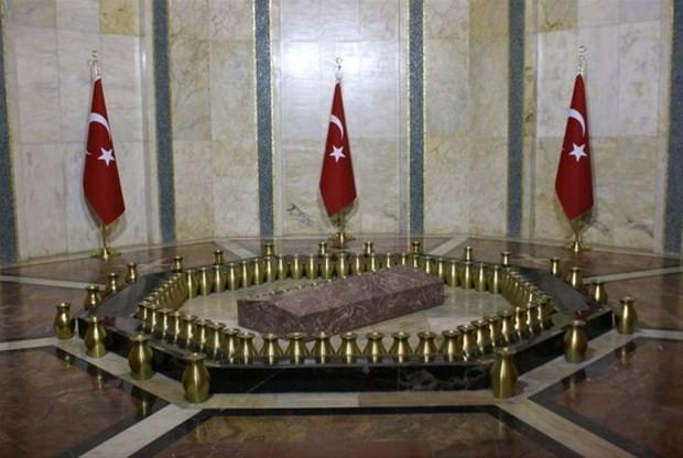 Atatürk burada yatıyor