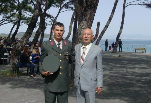 Jandarma Teğmen Altuğ Pek'e veda