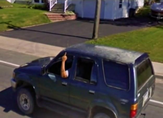 Google Maps'e yakalanan ilginç kareler