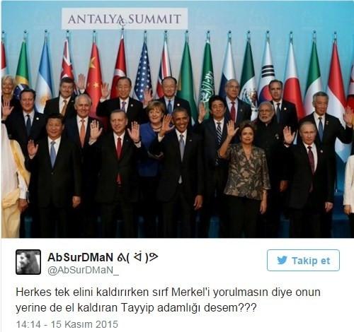 G20 capsleri kırdı geçirdi !