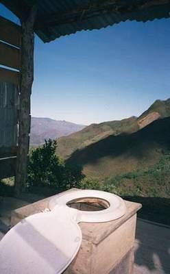 Manzaralı tuvaletler !