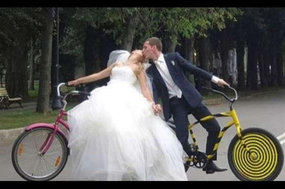 Böyle düğün resimleri görmediniz!