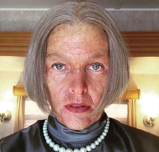 Milla Jovovich de yaşlandı