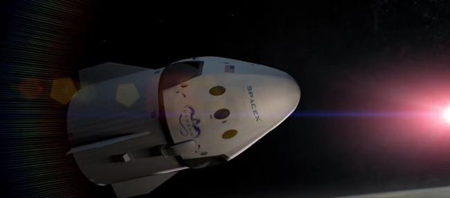 Spor otomobil gibi insanlı uzay mekiği