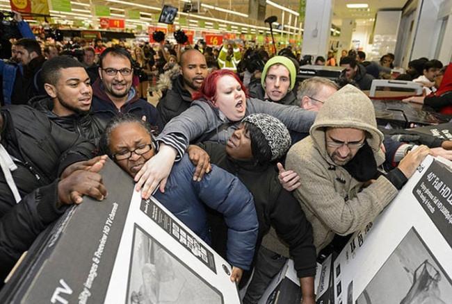 Alışveriş zombileri