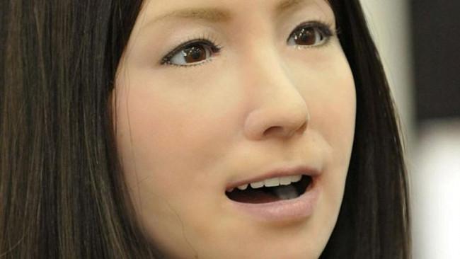 Karşınızda en seksi robot Geminoid F