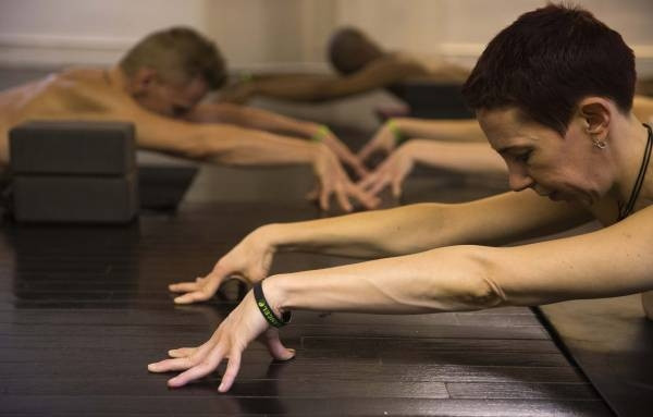 Çırılçıplak yoga