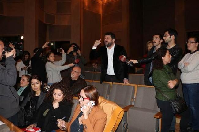 Haliçport Toplantısı'na protesto