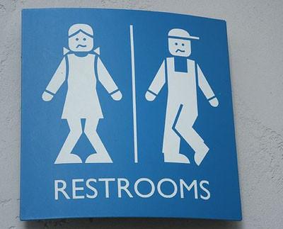 Güldüren tuvalet sembolleri