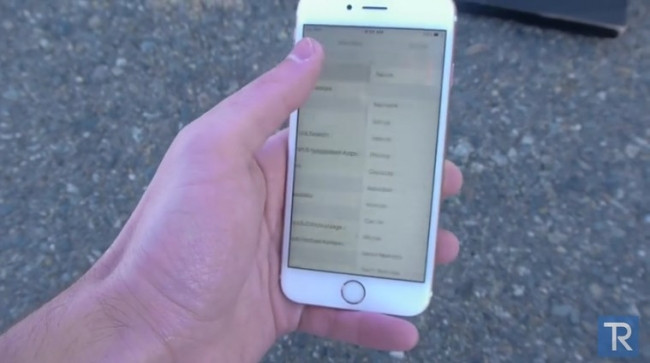iPhone 6S ekranı ne kadar dayanıklı?