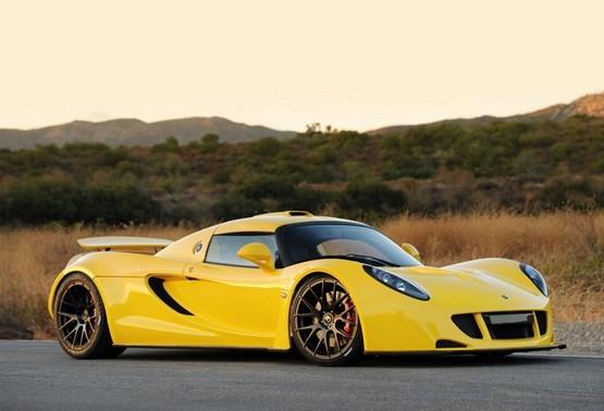 Dünyanın en hızlı arabası artık Hennessey Venom GT
