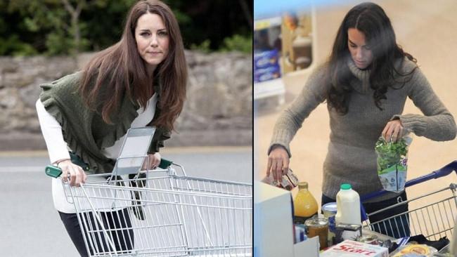 Kate Middleton da bazen dağınık yakalanabiliyor