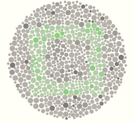 Renk körlüğü testi için buyrun!