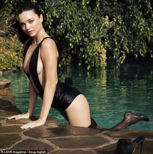 Miranda Kerr'den seksi pozlar