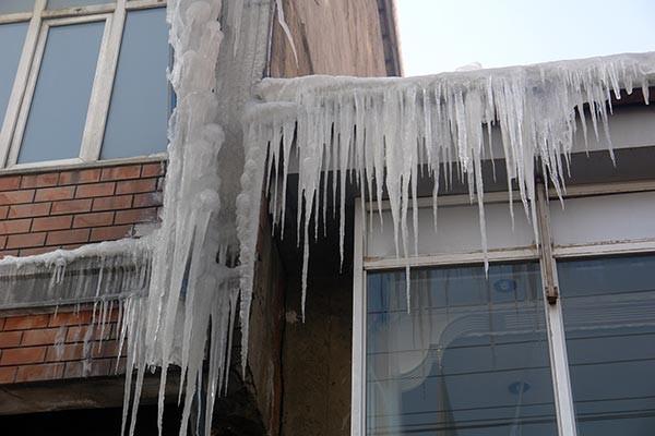 Doğu buz kesti!