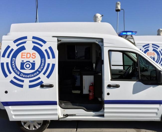 Mobil EDS 6 bin 538 sürücüye cezayı kesti