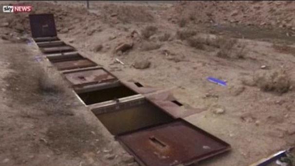 İşte IŞİD'in kara zindanları